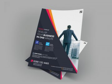 Business Flyer Vol.3 – Free PSD Flyer Template