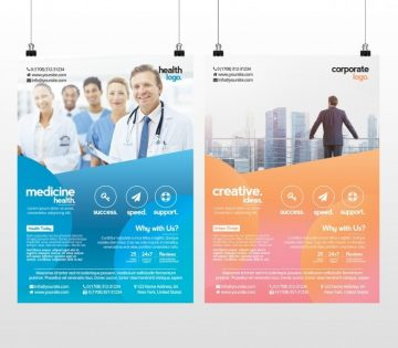 Business and Medicine Health – Free PSD Flyer Template to Download