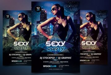 Party – Free PSD Flyer Template to Download