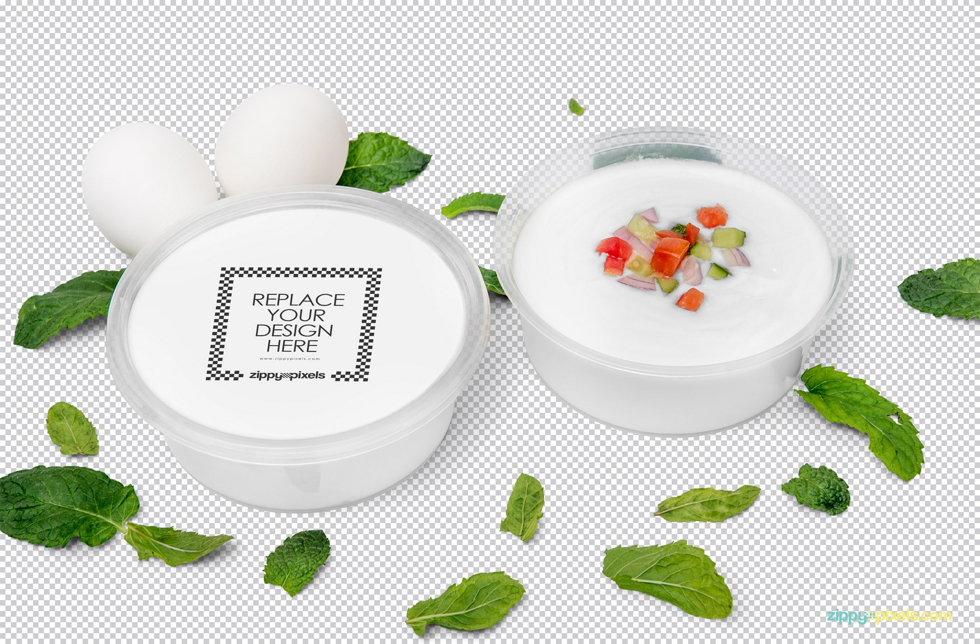 Disposable Soup Bowl – Free PSD Mockup