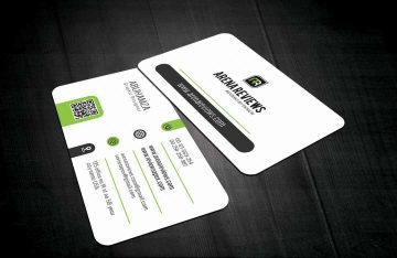 Corporate Card - Freebie Business Card Template