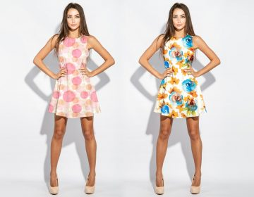 Dress Mockup with Woman Model - Freebie Mockups
