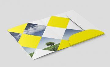 Folder - Download Free PSD Mockup