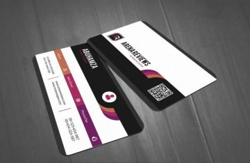 Modern Corporate Pattern - Free Business Card Template