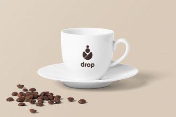 Coffee Cup - Realistic Free PSD Mockup
