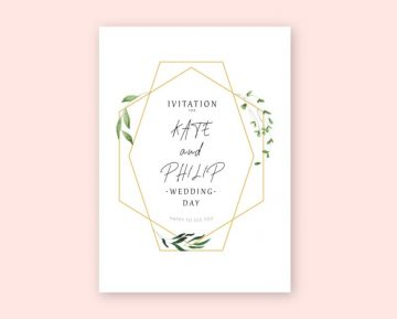 Wedding Invitation - Free Template