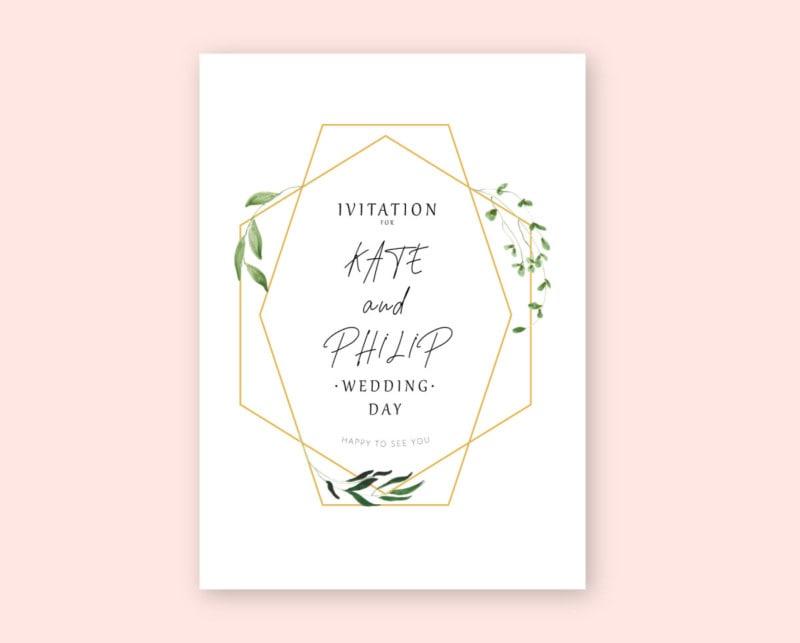 Wedding Invitation – Free Template