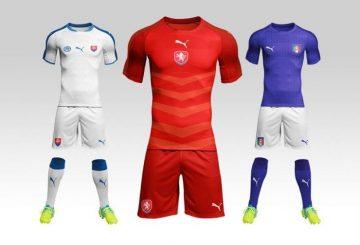 Football / Soccer Kit - Free PSD Mockups