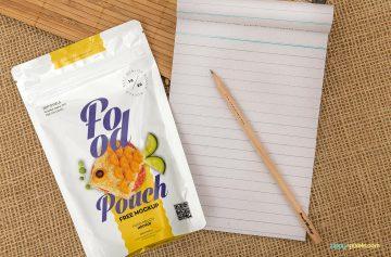Free Food Pack - Free PSD Mockup