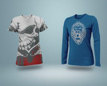 Realistic T-Shirt Mockup - Free PSD Mockups