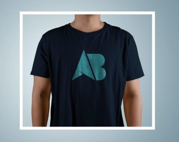T-shirt for Male - Free PSD Mockup