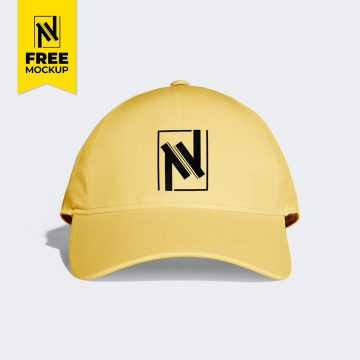 Cap - Download Free PSD Mockup