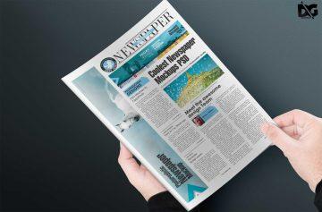 Realistic Magazine - Free PSD Mockups