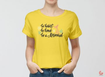 Women Wearing T-Shirt - Free PSD Mockup