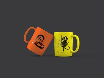 Free Mug PSD Mockup - Freebie Mockups