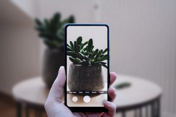 Phone Camera - Free PSD Mockup