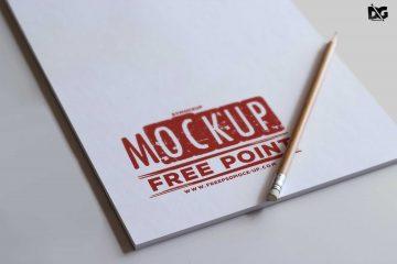 Free Letter Pad Logo - PSD Mockup