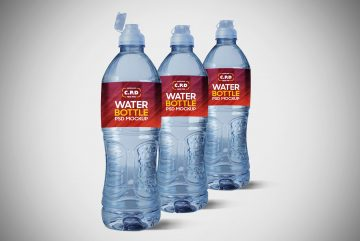 Free Water Bottle Mockup | Download Freebie Mockups