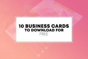 10 Free PSD Business Card Templates