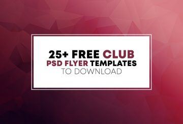25 Best Free PSD Flyer Templates for Events & Party