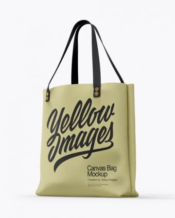 Canvas Bag Free Mockup