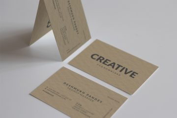 Classic Business Card Free PSD Template