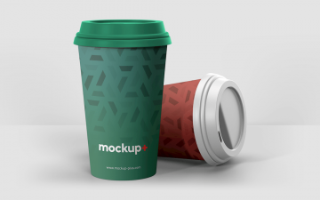 Realistic Coffee Cup Free Mockup