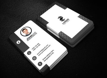 Creative Business Card Design Free PSD Template