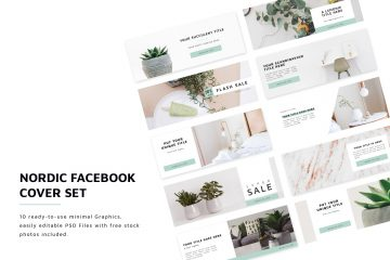 10 Free Elegant Facebook Covers