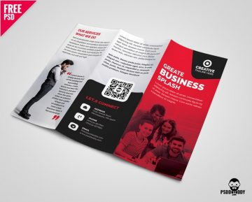 Free Business Tri-Fold Brochure Template