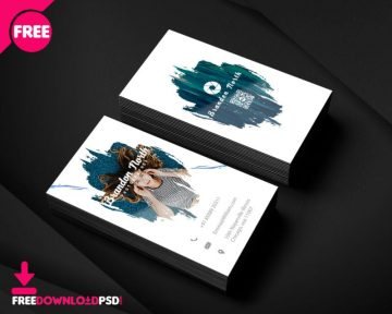 Free PSD Creative Business Card for Photographers