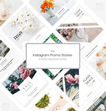 9 Instagram Promo Free PSD Template