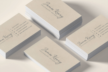 Minimal Business Card Free PSD Template