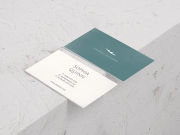 3 Free Minimal Business Card Templates