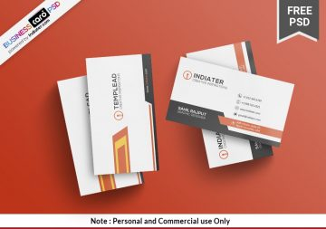 Multipurpose Company Business Card Free PSD Template