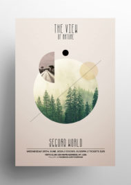 The View - Nature PSD Flyer Template