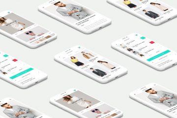 UI iPhone X Monochrome Free Mockup