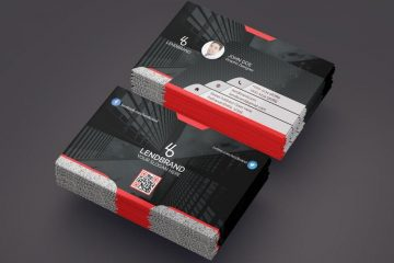 Creative Business Card - Free PSD Template