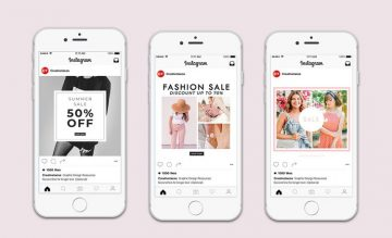 5 Free Fashion Instagram Post Templates