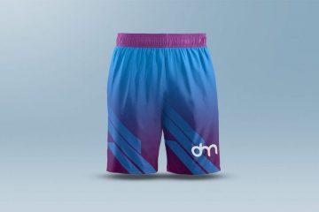 Men's Shorts Free Mockup