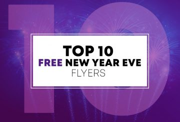 Top Free 10 New Year Flyer Templates for 2019