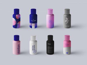 Bottle Packaging Free Mockup