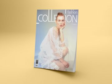 Magazine Cover Free Mockups