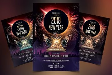 New Year Eve | Premium PSD Flyer