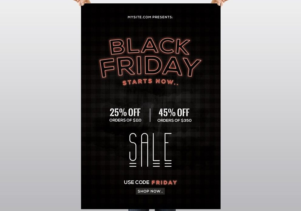 Black Friday - Free PSD Flyer Template