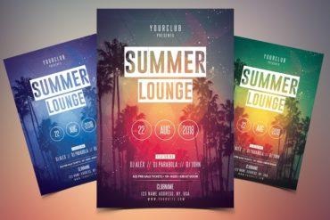 Summer Lounge Flyer