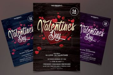 Valentines Day Premium PSD Flyer Template