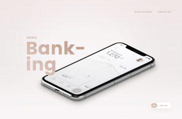 Banking Mobile App Free Ui