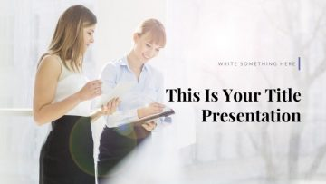 Bright Free Presentation Template for PowerPoint, Apple Keynote, and Google Slides