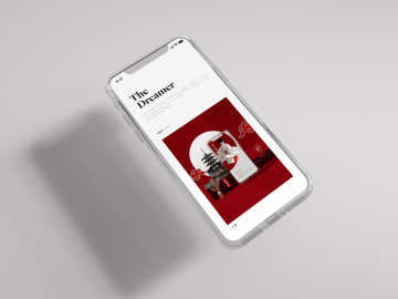 Clean iPhone X Mock-up